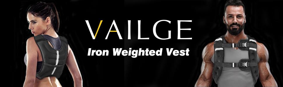 Vailge Weighted Vest 2kg 5kg 10kg 15kg Weight Vest Weighted Vests for Men Women