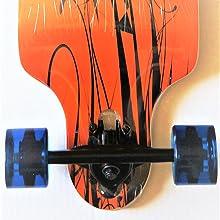 skateboard, cruiser, long board