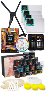 MEEDEN Great Value Acrylic Painting Set