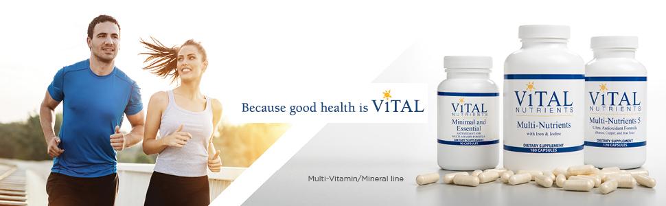 Because good health is Vital image