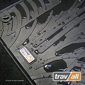 Travall Mats Gummifußmatten Kompatibel Mit Seat Arona Und Ibiza Ab 2017 Trm1306 Allwettermatten Nach Maß Fussmatten Set Auto