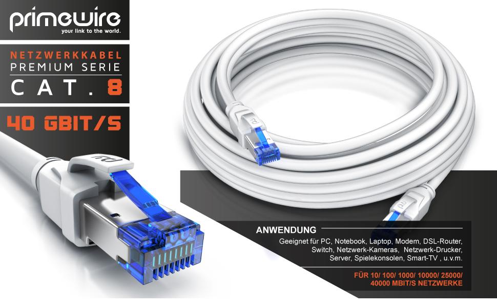 De Cat 8 Networking Cable Elektronik