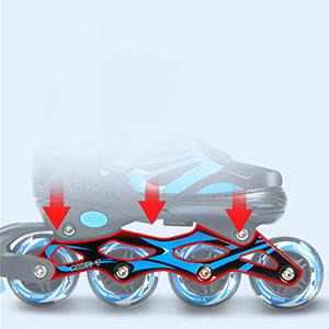 rollerblades boys size 1-4