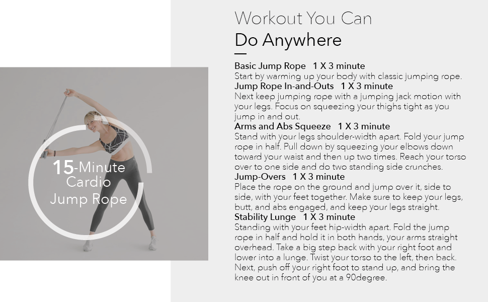 Workout You Can Do Anywhere