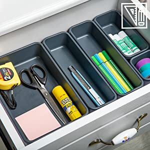 Office drawer organizers