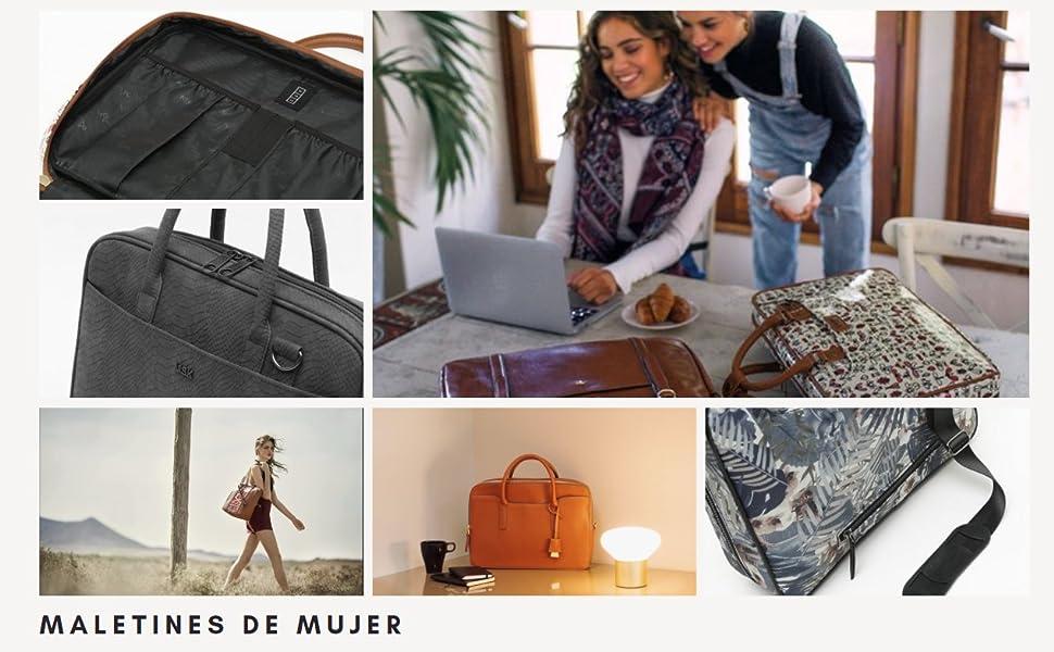 misako, maletines de moda, maletines de marca, maletines portátil mujer, maletines para mujer, moda