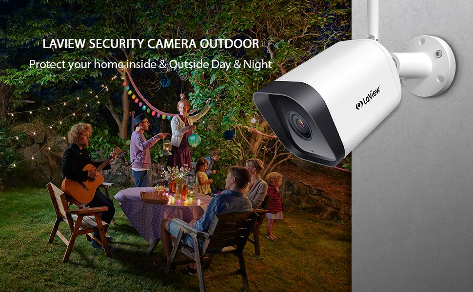 security camera outdoor 1080P HD wifi camera outdoor camera wireless home security camera