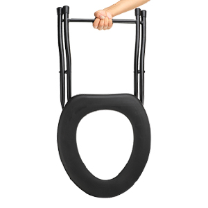portable foldable lightweight toilet commode chair for travel