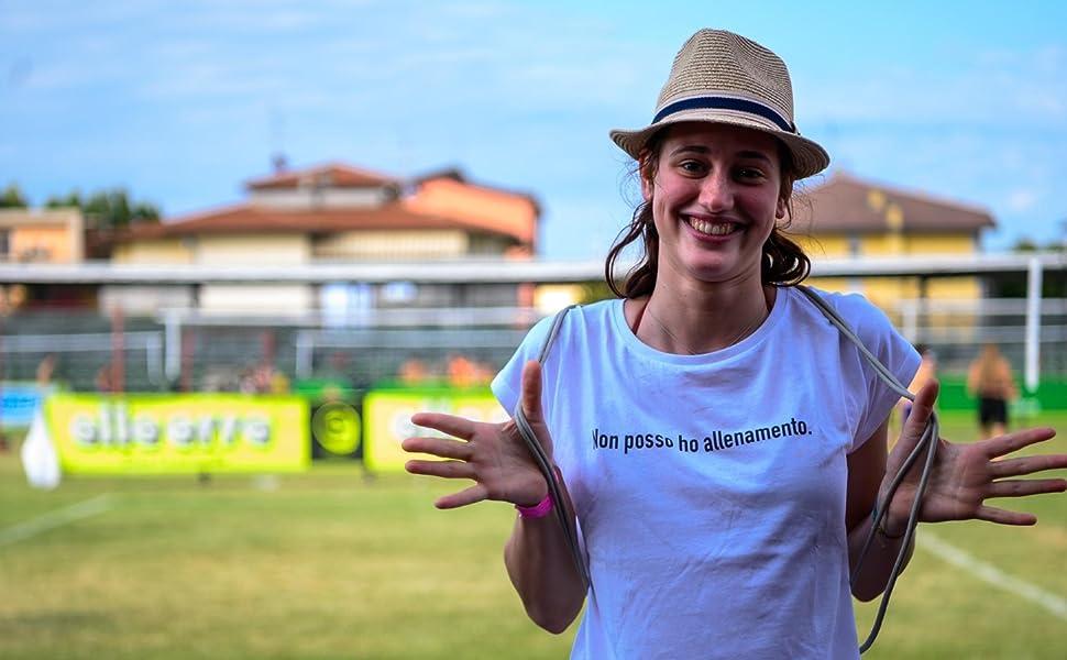 Maglietta Girocollo Profondo Non Posso Ho Allenamento T-Shirt Donna   100/% Cotone QAR7.3