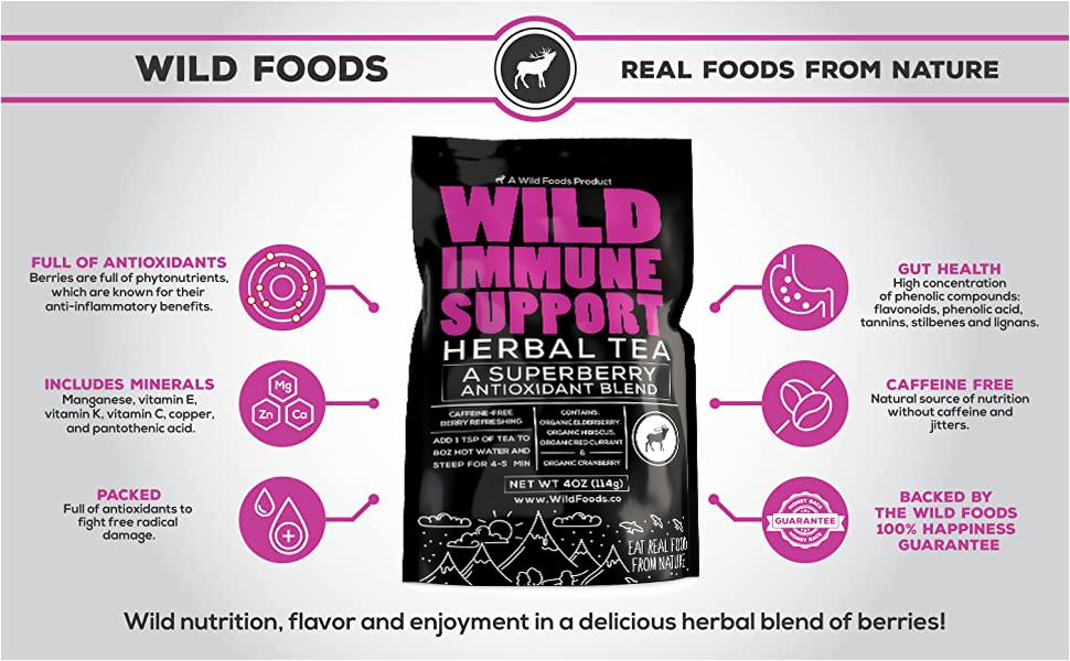 Wild Immune Support Tea