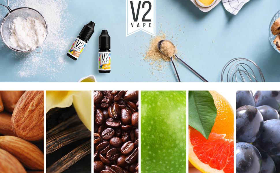 Sorten Dampfen Backen Lebensmittel Aroma Konzentrat Geschmack Fruchtig Speisen Zubereitung