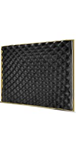 Flashandfocus.com d4ade393-e9e9-4163-b748-1d1e19c7896e.__CR0,0,300,600_PT0_SX150_V1___ TroyStudio Acoustic Sound Diffuser Panel 12 X 12 X 1 Inches Pack of 4, Studio Diffuser Wall Decor
