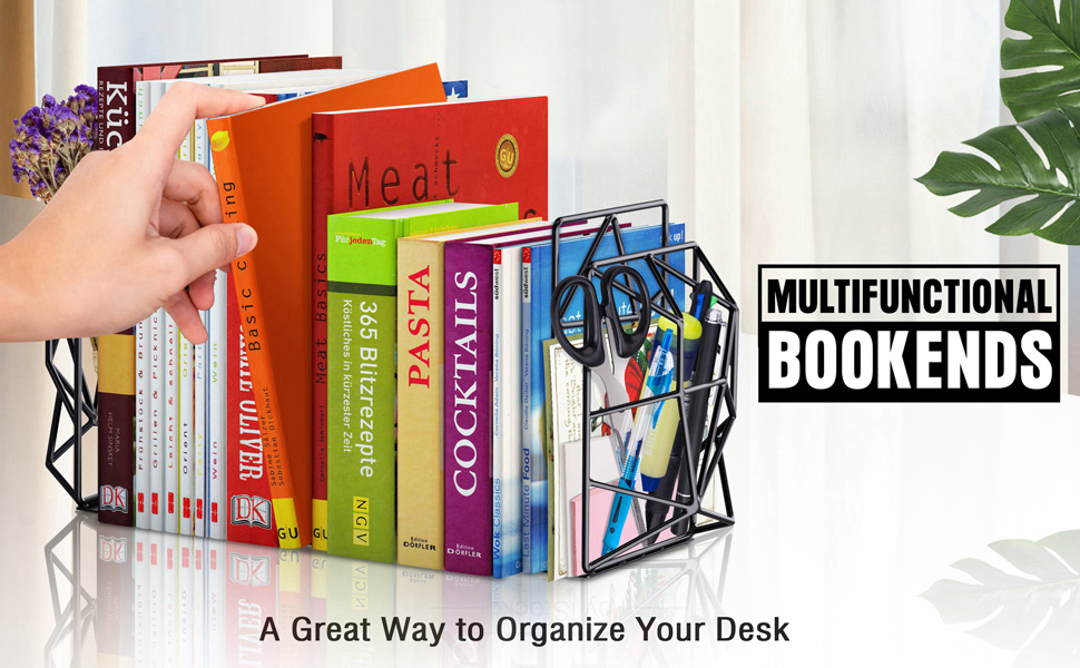 Geometrical Bookends
