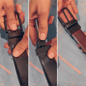 Rotated Prong Buckle