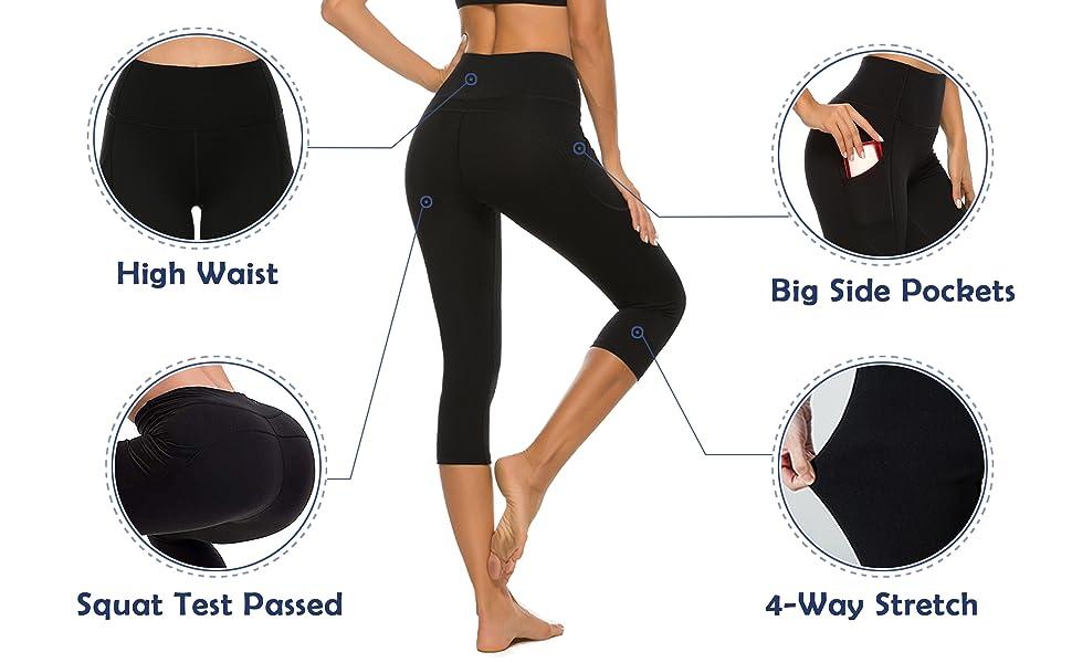 stelle yoga pants for women capri