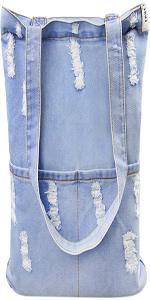 Handtasche Schultertasche Tragetasche koreanisch Löcher Stil für Freizeit Einkaufen Studium