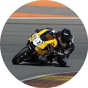 Motorcycle racing photo