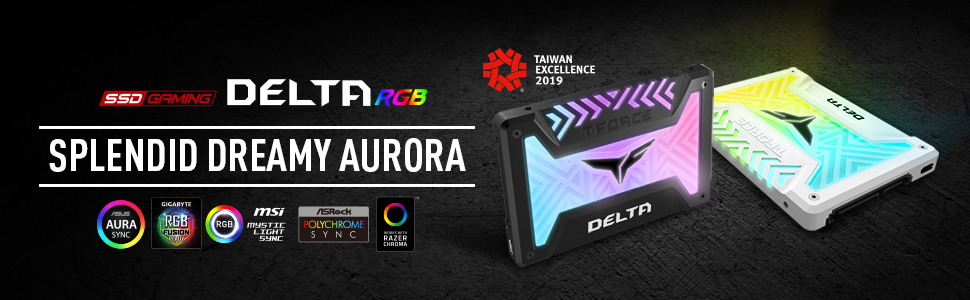 TEAMGROUP DELTA RGB SSD