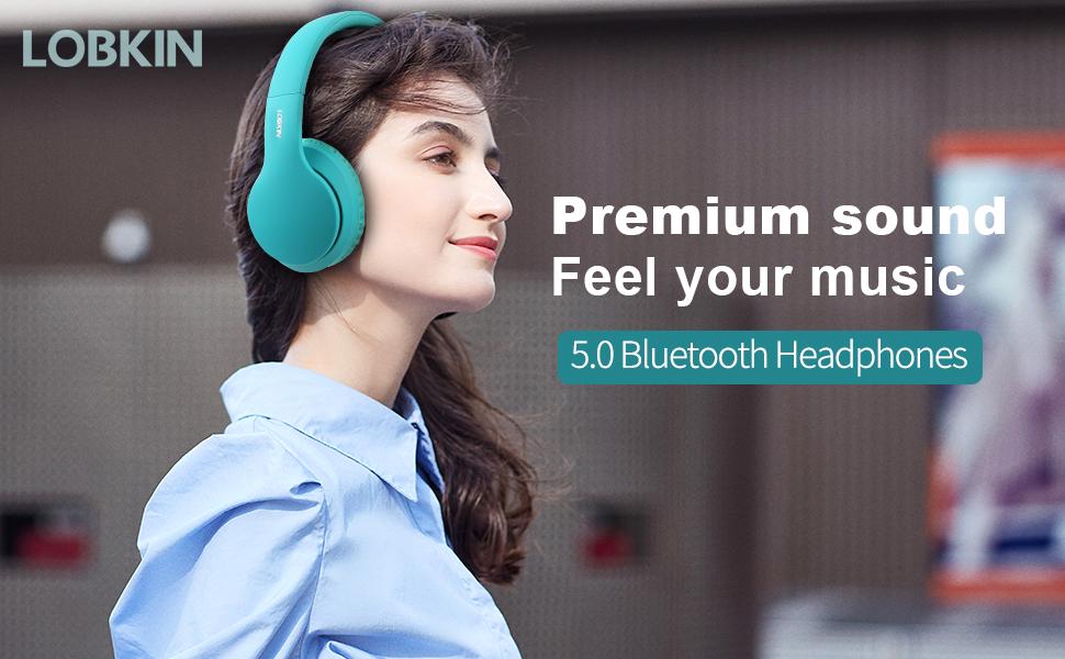 Premium sound wireless headphone