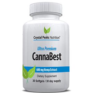 CannaBest hemp oil capsule softgel