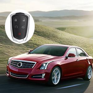Cadillac Keyless Entry Remote Key Fob Case Shell
