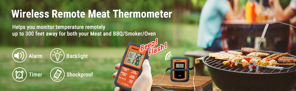 smoking grill thermometer