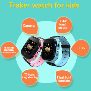Tracker watch for your kids