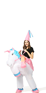 riding unicorn for adult
