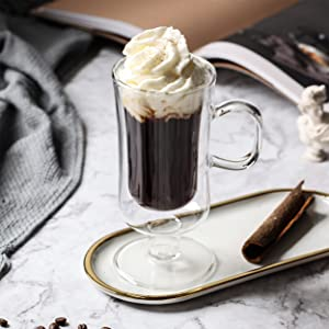 Irish coffee mug glass
