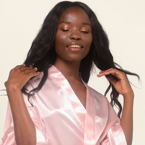 silk robe feels great