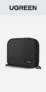 Electronic Organizer, Double Layer Travel Gadget Bag