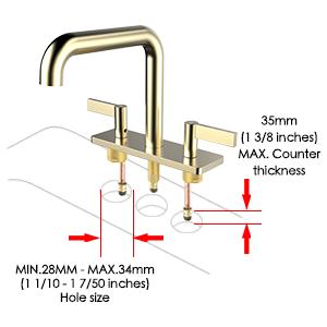 gold sink for bathroom
