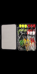panfish poppers for fly fishing