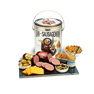 Charcuterie, food, gift , cheese, sausage, mustard, olives, pretzels, peanuts