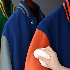 Cleaning your stewart and strauss letterman jacket