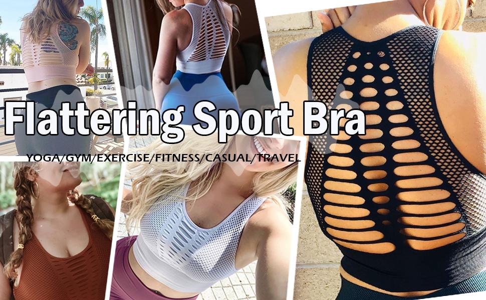 crop top sport bra