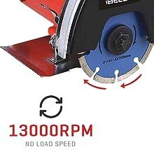 13000RPM No Load Speed