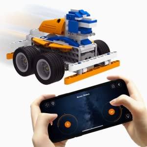 SuperBot App remote control voice control programmed car toy Lego robotics robot