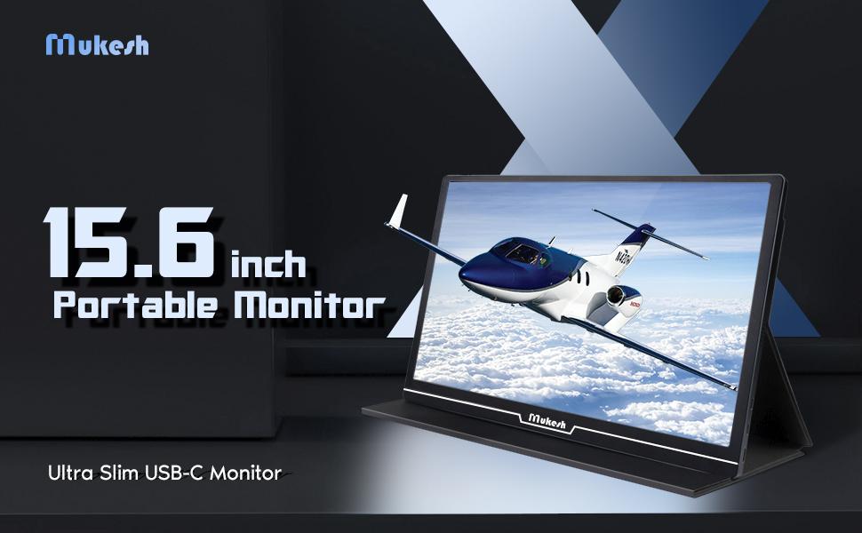 portable 15.6 inch monitor