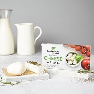Beginners Cheese making kit by Sandy Leaf Farm