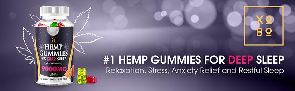 hemp gummies for deep sleep