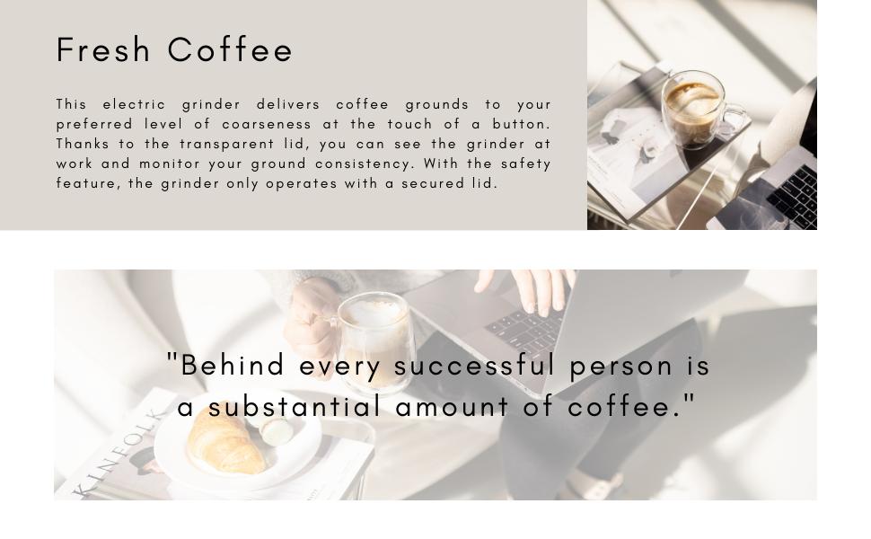 kaffe, coffee, fresh, quote