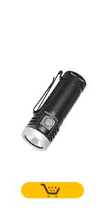 AA battery handheld compact flashlight