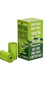 Dog Poop Bags - 120 Count