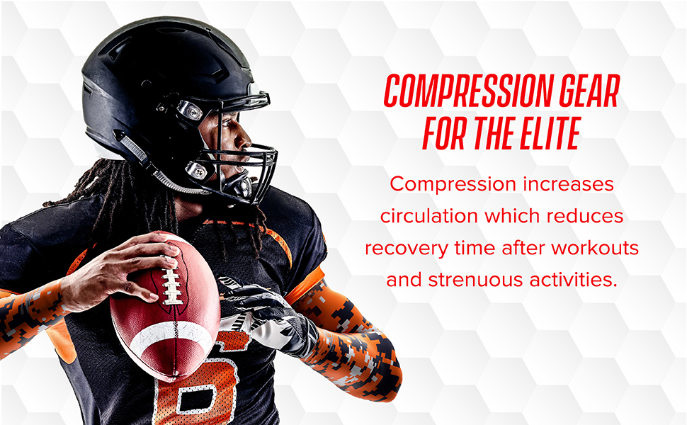 Basketball 2 packages Details about  /Compression Sports Arm Sleeve Baseball Football 2 pair