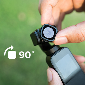 90° Rotating Lens