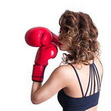 boxing bag for women
