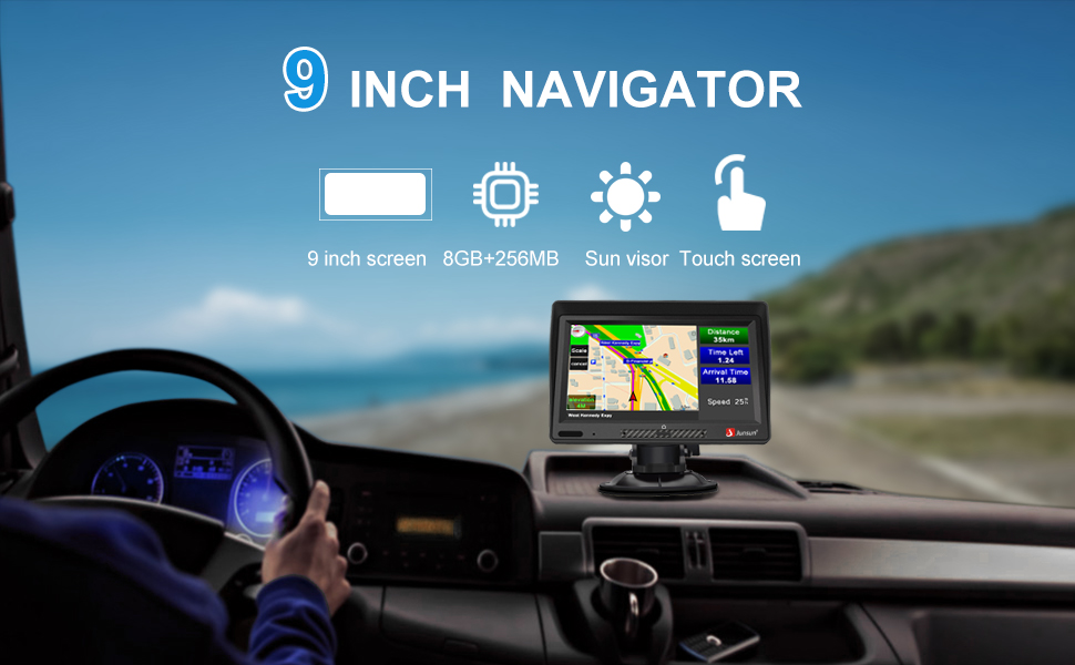 9 Inch GPS Naviagtion System