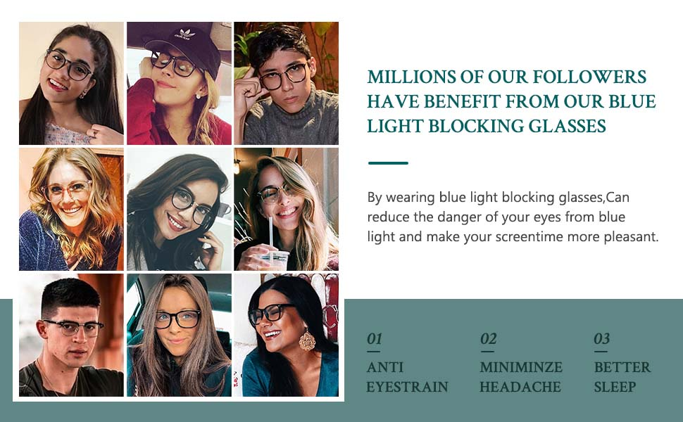 cyxus blue light glasses