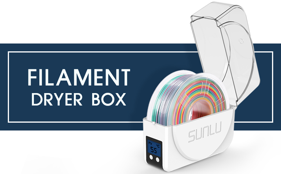dry box filament dryer filament storage 3d printer enclosure dry storage containers dehydrator